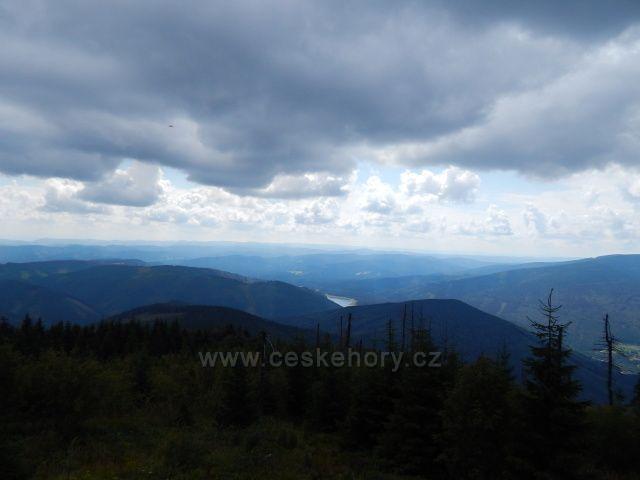 výhled na slovenské hory