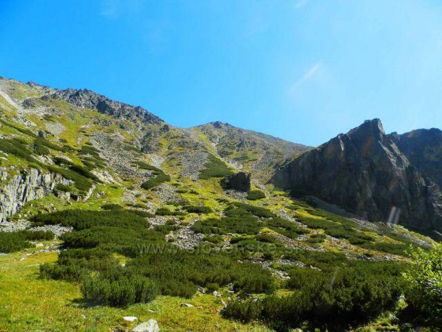 Štrbské pleso - cesta k vodopádu Skok