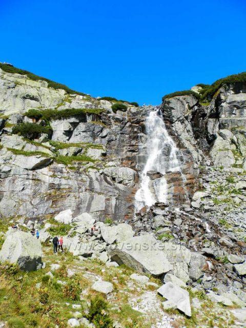 Štrbské pleso - vodopád Skok