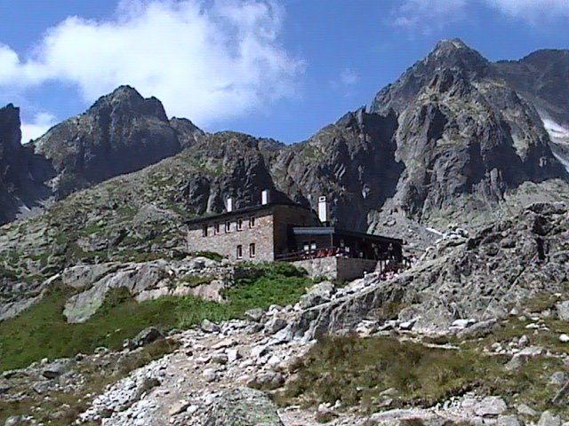 Teryho chata ve Vysokých Tatrách