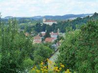 Černá Hora - pohled k zámku