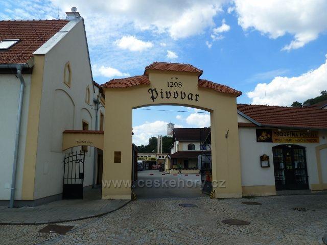 Černá Hora - vstupní brána do pivovaru