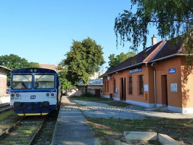 Hustopeče - nádraží ČD