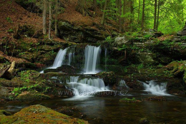 Vodopád na Skalním potoce - Jeseníky(konec května 2016)