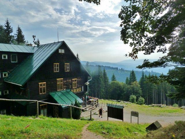 Králický Sněžník - turistická chata Návrší