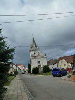 Pavlov - kostel svaté Barbory Na Návsí