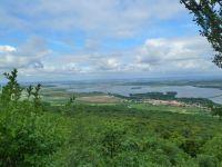 Pavlov - pohled z Děviček na Dolní Věstonice a Věstonickou a Mušovskou vodní nádrž