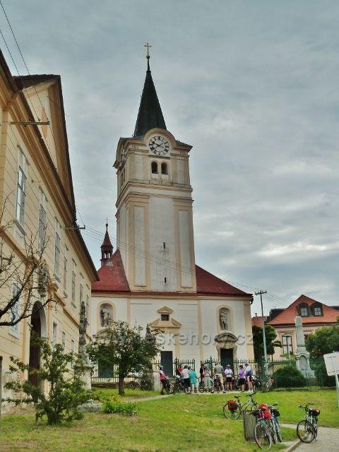 Šatov - kostel svatého Martina