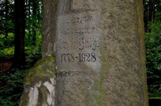 Pomník ke 150.výročí narození F.L.Jahna