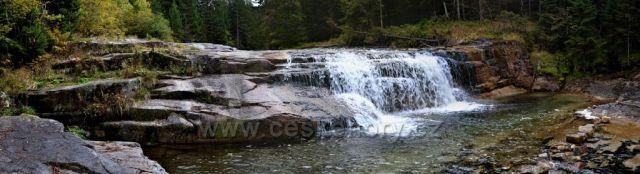 Jeden z vodopádů Bílého Labe