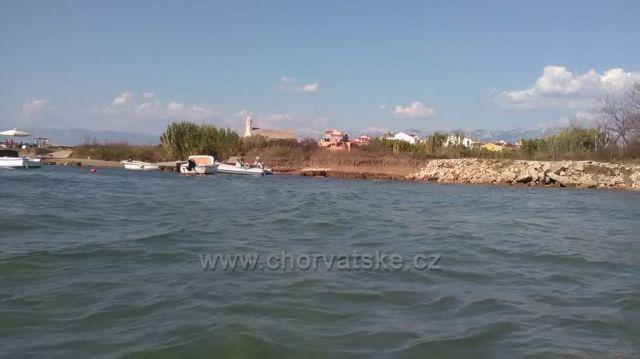 Pohled z moře na Povljanu, Put Svatog Nikole