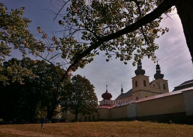 Kopeček - klášter Hora Matky Boží