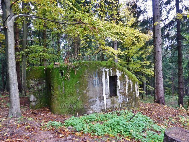Lichkov - bunkr u cyklostezky ke tvrzi Bouda