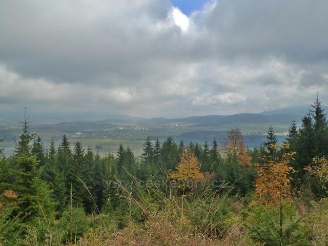 Lichkov - pohled z cyklostezky k Boudě na Králíky
