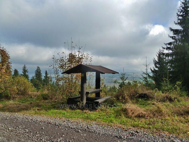 Lichkov - sedánek u vyhlídkového místa na cyklostezce k Boudě