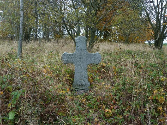 Vlčkovice - smírčí kříž z roku 1750
