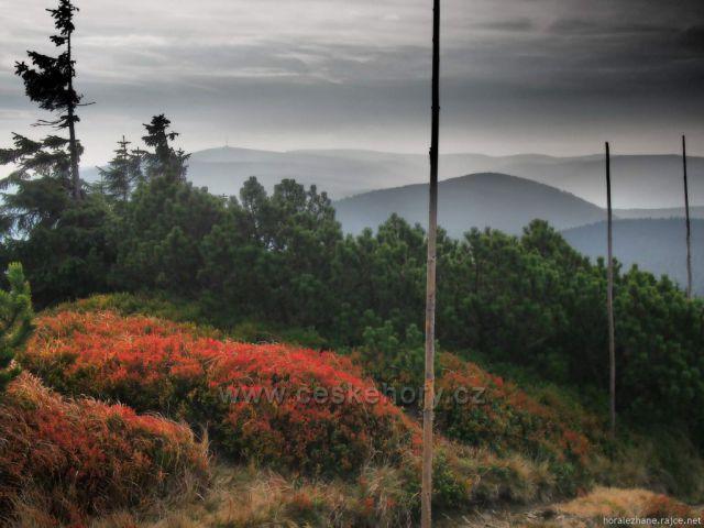 Jeseníky - výhled z Keprníku na Praděd
