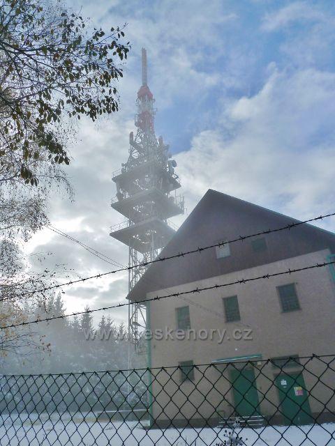 Objekt telekomunikační věže na Chlumu