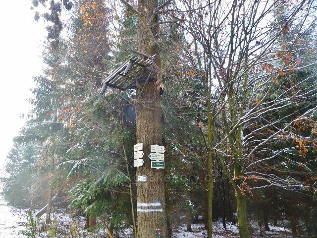 Turistický rozcestník Liščí doly