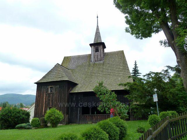 Hodslavice -dřevěný kostelík svatého Ondřeje