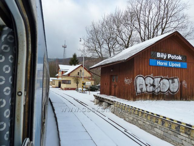 Železniční stanice Horní Lipová