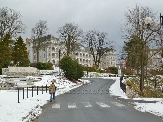Lázně Jeseník -Priessnitzovo sanatorium