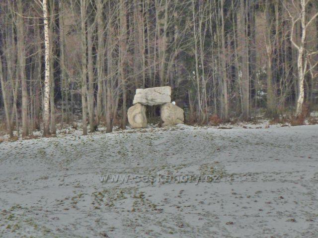 Lázně Jeseník - Cesta života, monument Brána