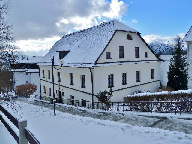 Lázně Jeseník - rodný dům a muzeum Vincenze Priessnitze