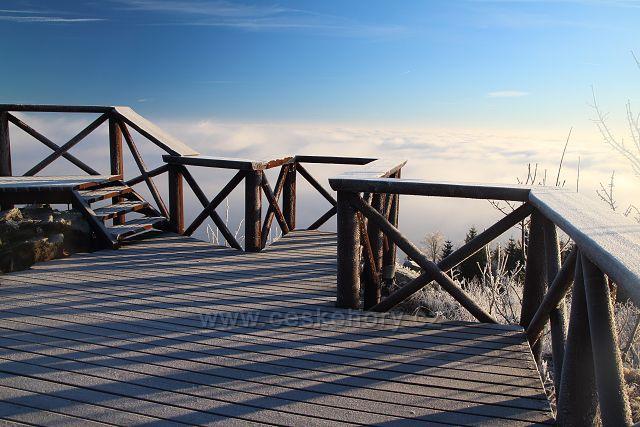 Vyhlídková plošina na Stropníku