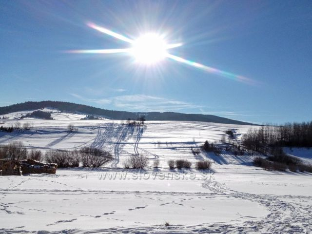 Zima na Oravě