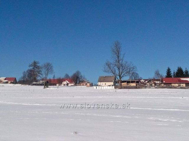 Zima na Oravě.