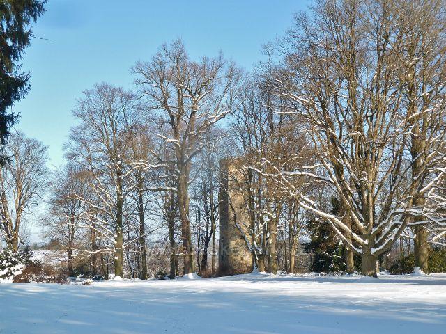Žamberk - pozůstatek bývalého hrádku v zámeckém parku  sloužil do nedávna jako vodárenská věž