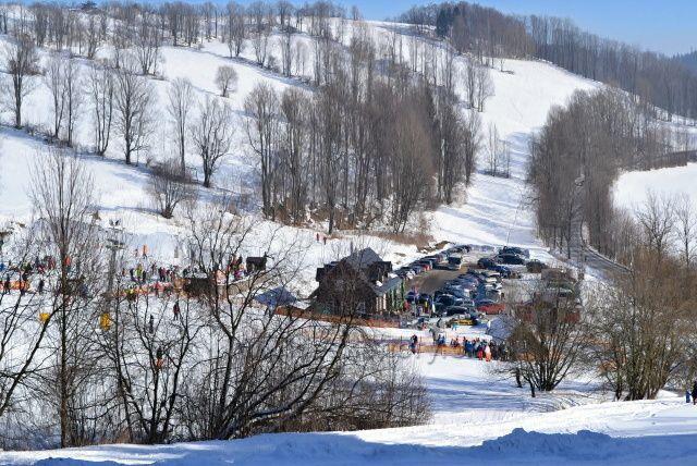Ski areál Annaberg.