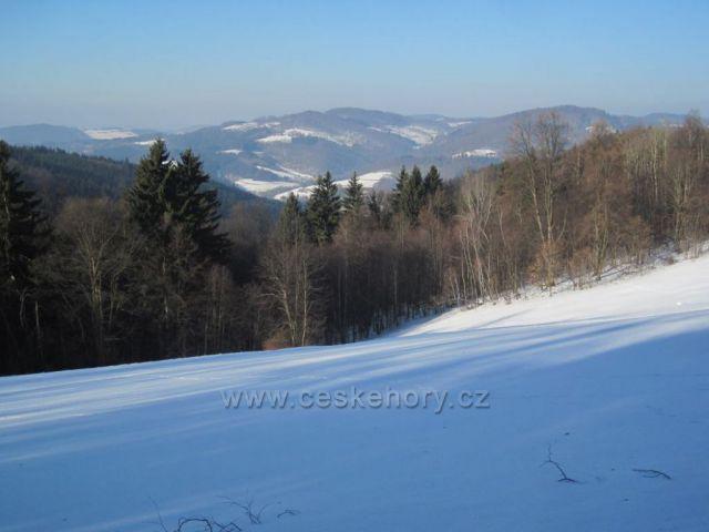 Vsetínské vrchy z Jaonovských pasek