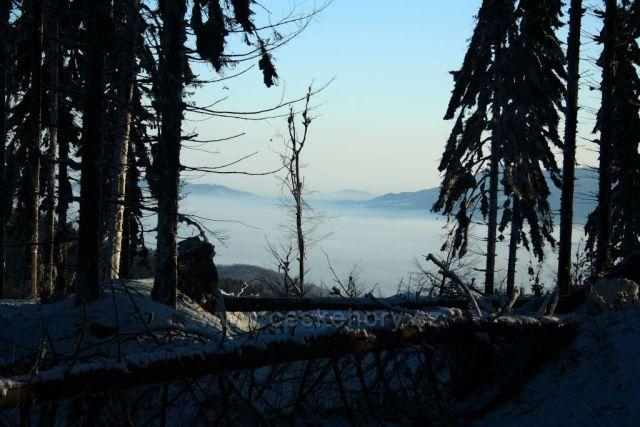 Velký Javorník a moje výhledy
