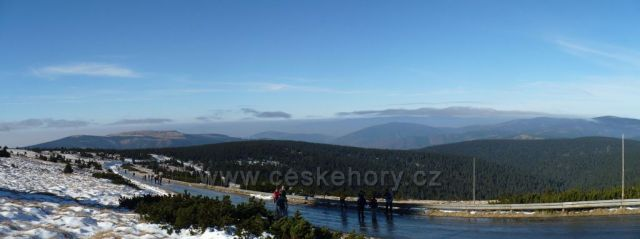 Praděd - panorama z vrcholu