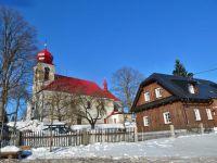 Říčky v O.h. -kostel Nejsvětější Trojice