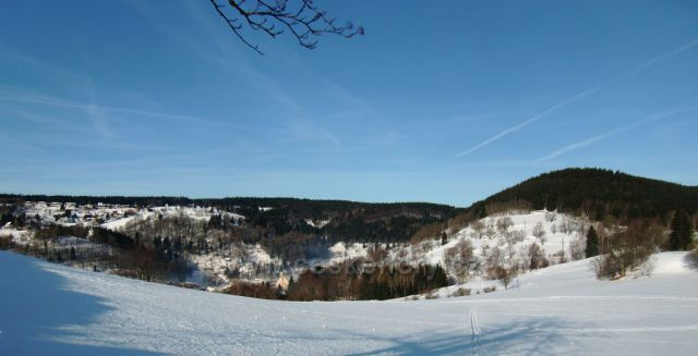pohled z Klobouku na Jáchymov