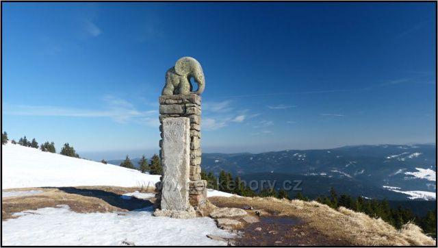 Slůně, symbol králického Sněžníku
