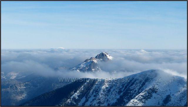 Velký Rozsutec, Poludňový Grůň a Steny severný vrchol