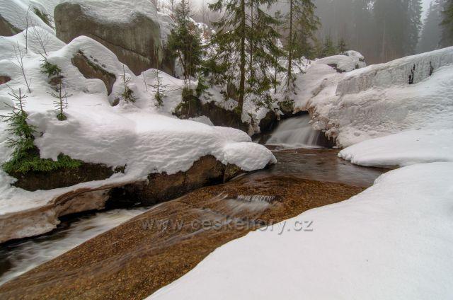 Vodopády Černá Desná.