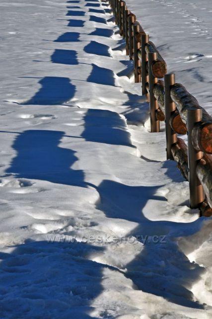 Perspektiva na sněhu