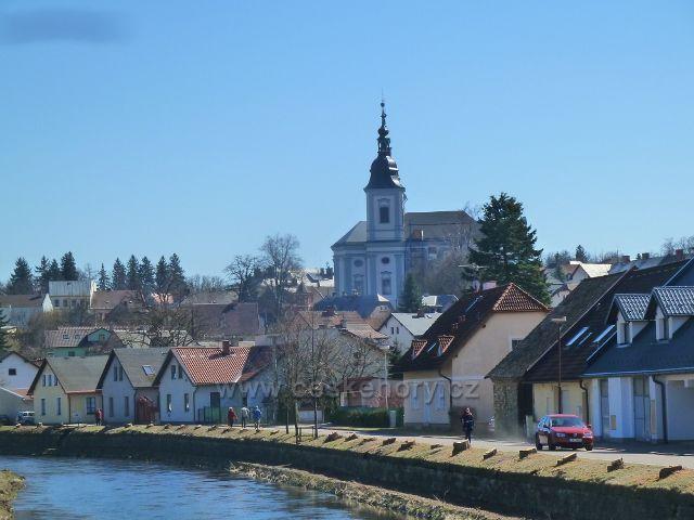 Žamberk - nový pohled na kostel svatého Václava