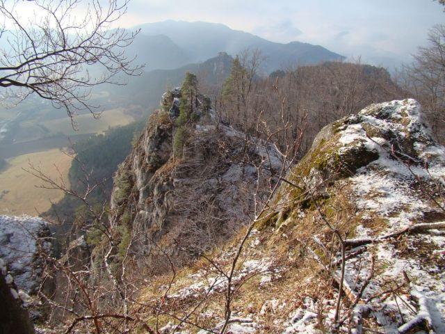 Pohled ze Súlovských skal
