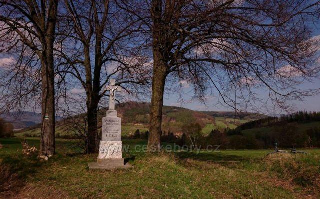 Křížová cesta poutního areálu při kostelíku Božího těla a okolí