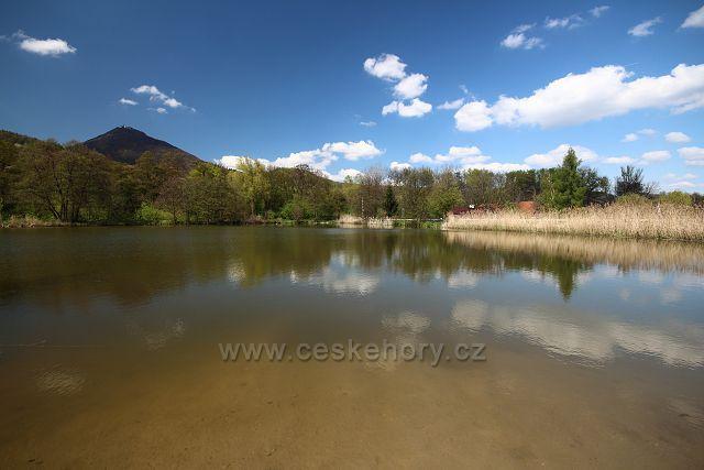 Rybník u Milešova