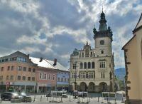 Náchod - Nová radnice na Masarykovo náměstí