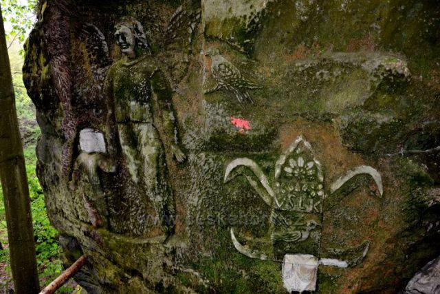 Skalní reliéfy u Kopicova statku