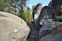 Kalich-skalní bludiště