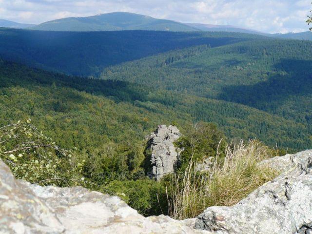 Pohled z Rabštejna